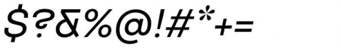 TT Travels Medium Italic Font OTHER CHARS