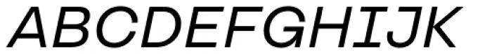 TT Travels Medium Italic Font UPPERCASE