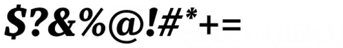 TT Tricks Extra Bold Italic Font OTHER CHARS
