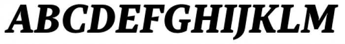 TT Tricks Extra Bold Italic Font UPPERCASE