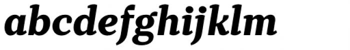 TT Tricks Extra Bold Italic Font LOWERCASE
