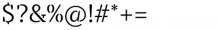 TT Tricks Stencil Light Font OTHER CHARS