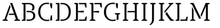 TT Tricks Stencil Light Font UPPERCASE