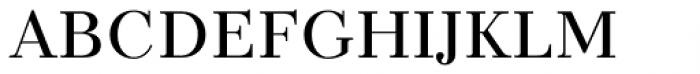 TT Tsars C Regular Font LOWERCASE