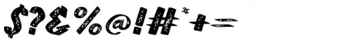 TT Walls Rough Black Font OTHER CHARS