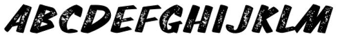 TT Walls Rough Black Font UPPERCASE