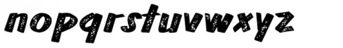 TT Walls Rough Black Font LOWERCASE