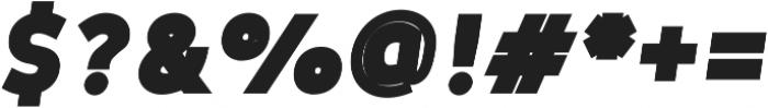 Tuckshop Heavy Italic ttf (800) Font OTHER CHARS