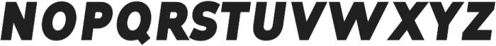 Tuckshop Heavy Italic ttf (800) Font UPPERCASE