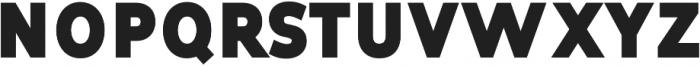 Tuckshop Heavy ttf (800) Font UPPERCASE