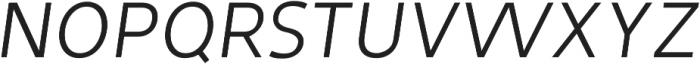 Tuckshop Sc Thin Italic ttf (100) Font UPPERCASE