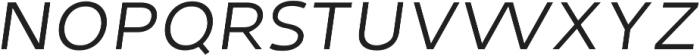 Tuckshop Sc Thin Italic ttf (100) Font LOWERCASE