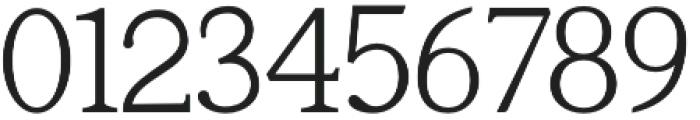 Tugano Light otf (300) Font OTHER CHARS