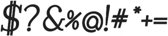 Tugano otf (400) Font OTHER CHARS