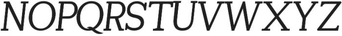 Tugano otf (400) Font UPPERCASE