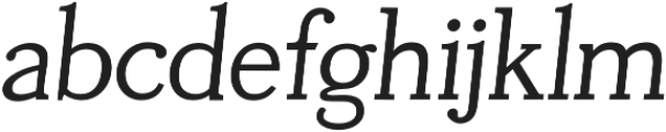 Tugano otf (400) Font LOWERCASE