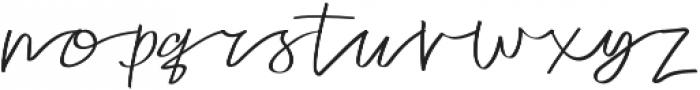Tulisan otf (400) Font LOWERCASE