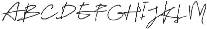 Tulisanku ttf (400) Font UPPERCASE