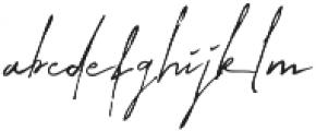 Tulisanku ttf (400) Font LOWERCASE