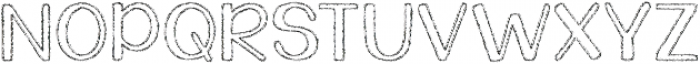Tuna and Hot Dogs on Rye ttf (400) Font UPPERCASE