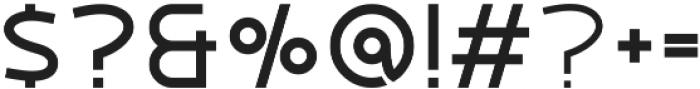 Tundra Bold otf (700) Font OTHER CHARS
