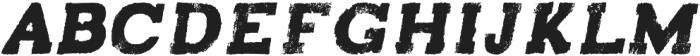 Turmeric italic otf (400) Font LOWERCASE