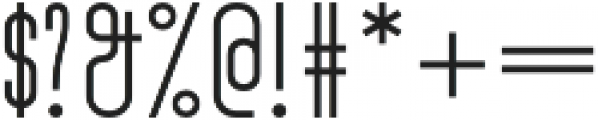 Turn Denmark Bold otf (700) Font OTHER CHARS