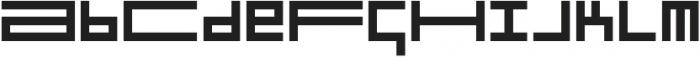 Turn Denmark Semibold otf (600) Font LOWERCASE