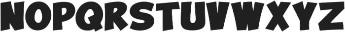 Turnstyle Bold otf (700) Font UPPERCASE