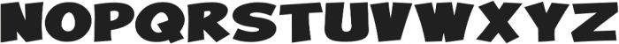 Turnstyle Expanded Bold otf (700) Font UPPERCASE