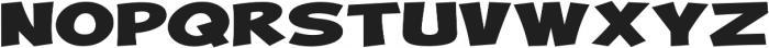 Turnstyle Extra-expanded Regular otf (400) Font UPPERCASE