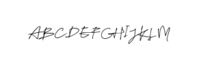 Tulisanku Font UPPERCASE