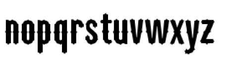 Tuscan Gothic Font LOWERCASE