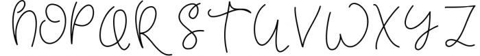 Tuesday - Handwritten Script Font Font UPPERCASE