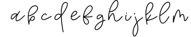 Tuesday - Handwritten Script Font Font LOWERCASE