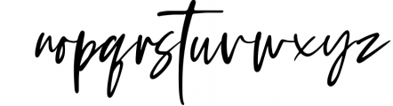 Tuesday Vibes - Handwritten Font Font LOWERCASE