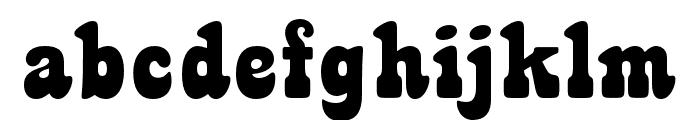 TUBbyOpti Font LOWERCASE