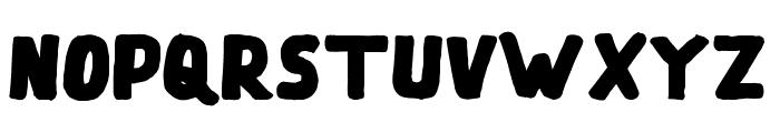 Tualang Regular Font LOWERCASE