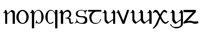 Tuamach Regular Font UPPERCASE