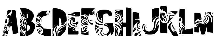 Tuamotu Font UPPERCASE
