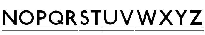 Tube Station-Plus. Font LOWERCASE