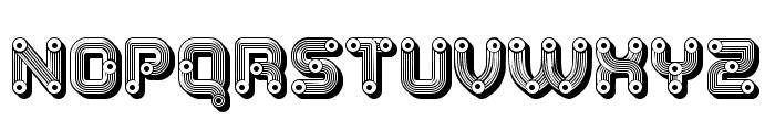 Tubes Extravagant Regular Font UPPERCASE