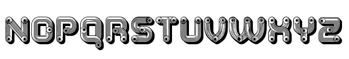 Tubes Fantastic Regular Font LOWERCASE