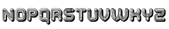 Tubes Grotesque Regular Font LOWERCASE