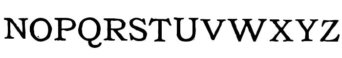 Tuce Font UPPERCASE