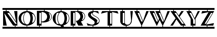 Tucson Two Step NF Font UPPERCASE