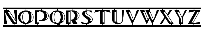 TucsonTwoStepNF Font UPPERCASE