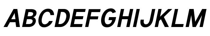 Tuffy Bold Italic Font UPPERCASE