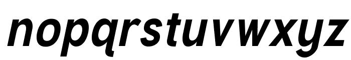Tuffy Bold Italic Font LOWERCASE