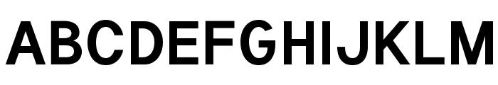 Tuffy Bold Font UPPERCASE